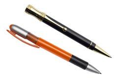 Penne isolate Fotografia Stock Libera da Diritti