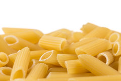 Penne isolated on white background Royalty Free Stock Image