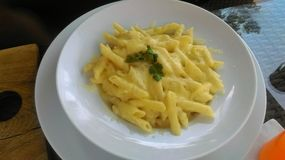 Penne makaron Obrazy Royalty Free