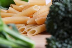 Penne pasta. Royalty Free Stock Photos