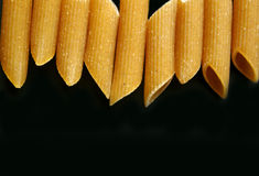 Penne pasta close up Stock Photos