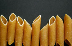 Penne pasta close up Royalty Free Stock Image