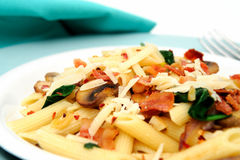 Penne Pasta Closeup Royalty Free Stock Image