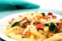 Penne Pasta Closeup Royalty Free Stock Image