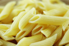 Penne pasta macro Stock Images