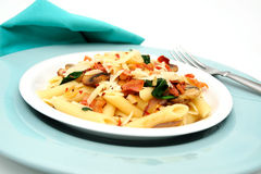 Penne Pasta Meal Stock Image