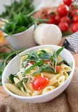 Penne pasta Stock Photography