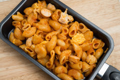 Penne pasta in tomato sauce Royalty Free Stock Photo