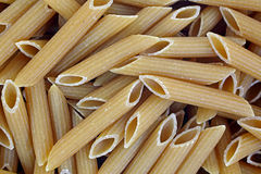 Penne Pasta up Close Royalty Free Stock Images