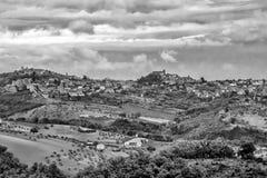 Penne Pescara, Abruzzo, Italien Royaltyfri Fotografi