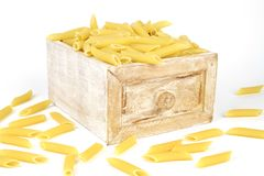 penne rigate Royalty Free Stock Images