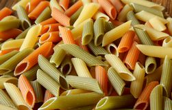 Penne rigate Royalty Free Stock Image