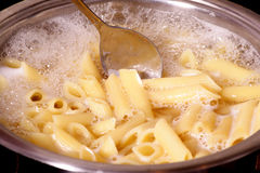 Penne rigate pasta Stock Photography