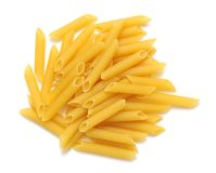 Penne rigate pasta Royalty Free Stock Images