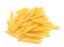 Penne rigate pasta Stock Image