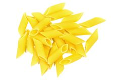 Penne rigate pasta Royalty Free Stock Photo