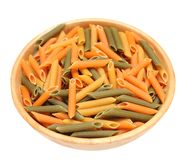 Penne rigate pasta Stock Photo