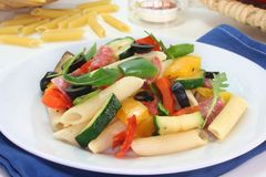 Penne Salad Stock Images