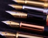 Penne stilografiche Fotografie Stock