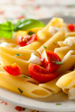 Penne Tricolore Stock Photos