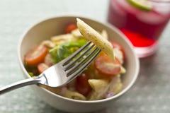 Penne Tuna Salad Royalty Free Stock Photography