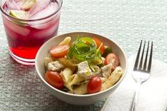 Penne Tuna Salad Stock Photos