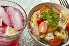 Penne Tuna Salad Stock Photo