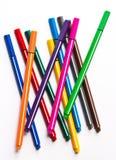 Penne variopinte Fotografie Stock