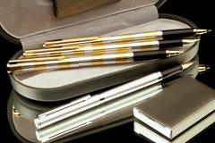 Pennen stock afbeelding