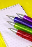 Pennen stock fotografie