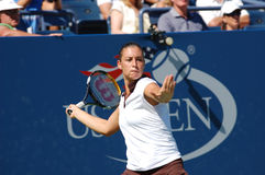 Pennetta Flavia at US Open 2008 (15) Royalty Free Stock Photos