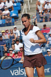 Pennetta Flavia at US Open 2008 (26) Royalty Free Stock Photo
