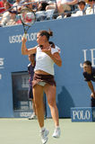 Pennetta Flavia at US Open 2008 (50) Royalty Free Stock Photo