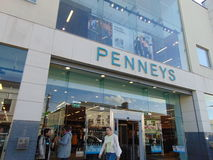 Penneys sklep obraz stock