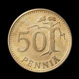 penni femtio Arkivbild