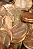 Pennies 2 Stock Image