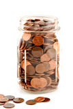 Pennies #3 Royalty Free Stock Images