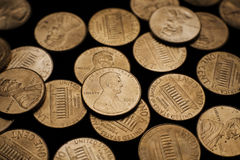 Pennies 3 Royalty Free Stock Photography