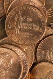 pennies fotografia de stock