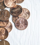 Pennies Royalty Free Stock Image