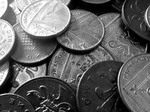 pennies imagem de stock