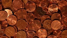 Pennies - Tracking Shot above Loose Change