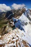 Pennin-Alpen Stockfotografie