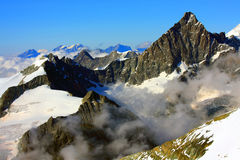 Pennine Alps Royalty Free Stock Photo