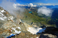 Pennine Alps Stock Photography