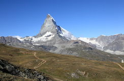 Pennine Alps Royalty Free Stock Photography
