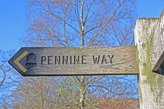 Pennine Way. Stock Image