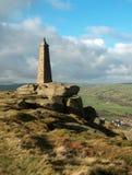 Pennine Way. Salt & pepper pinnacle nr Cowling, West Yorkshire Stock Photos