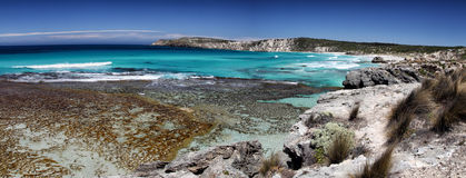 Pennington Bay, Kangaroo Island. Coastal landscape in Pennington Bay on Kangaroo Island, South Australia, Australia Stock Image