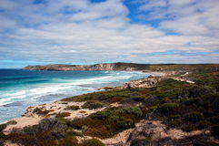 Pennington Bay, Kangaroo Island, South Australia. Kangaroo Island is one of South Australia's most popular tourist attractions, attracting over 140,000 visitors Royalty Free Stock Photo